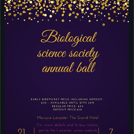 Biological Sciences Ball 2020
