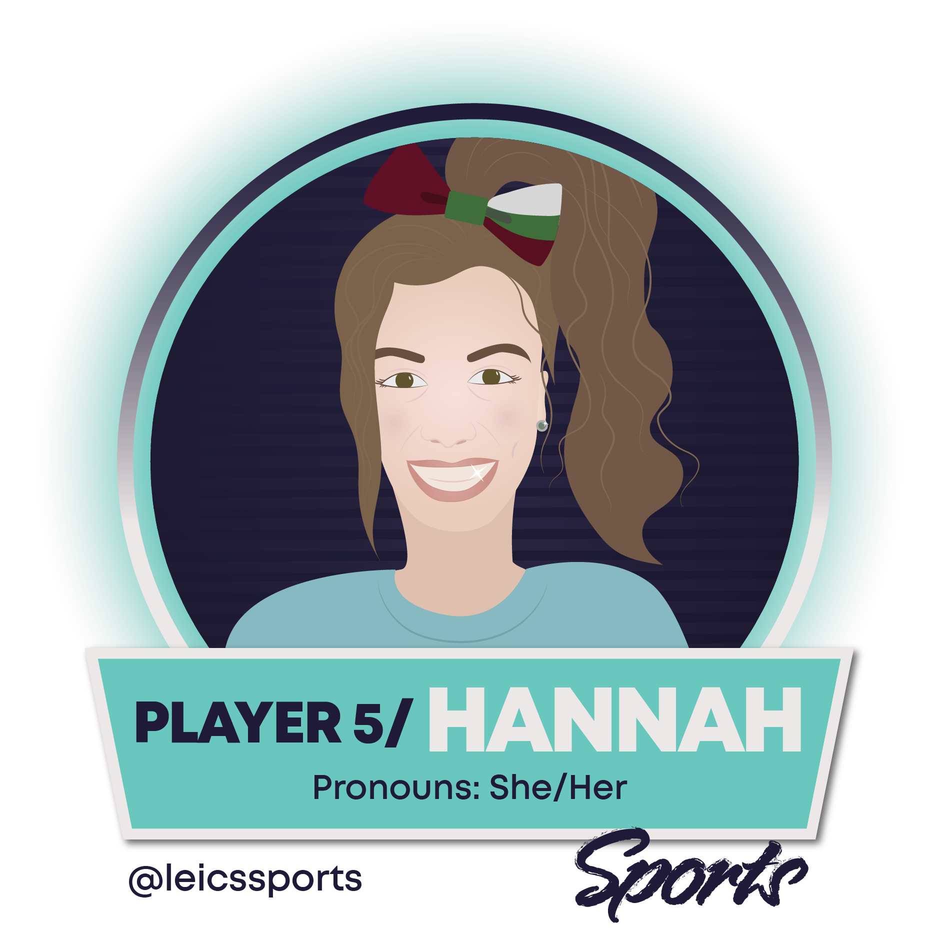 Image of Sports Officer Hannah Belcher, click for full profile