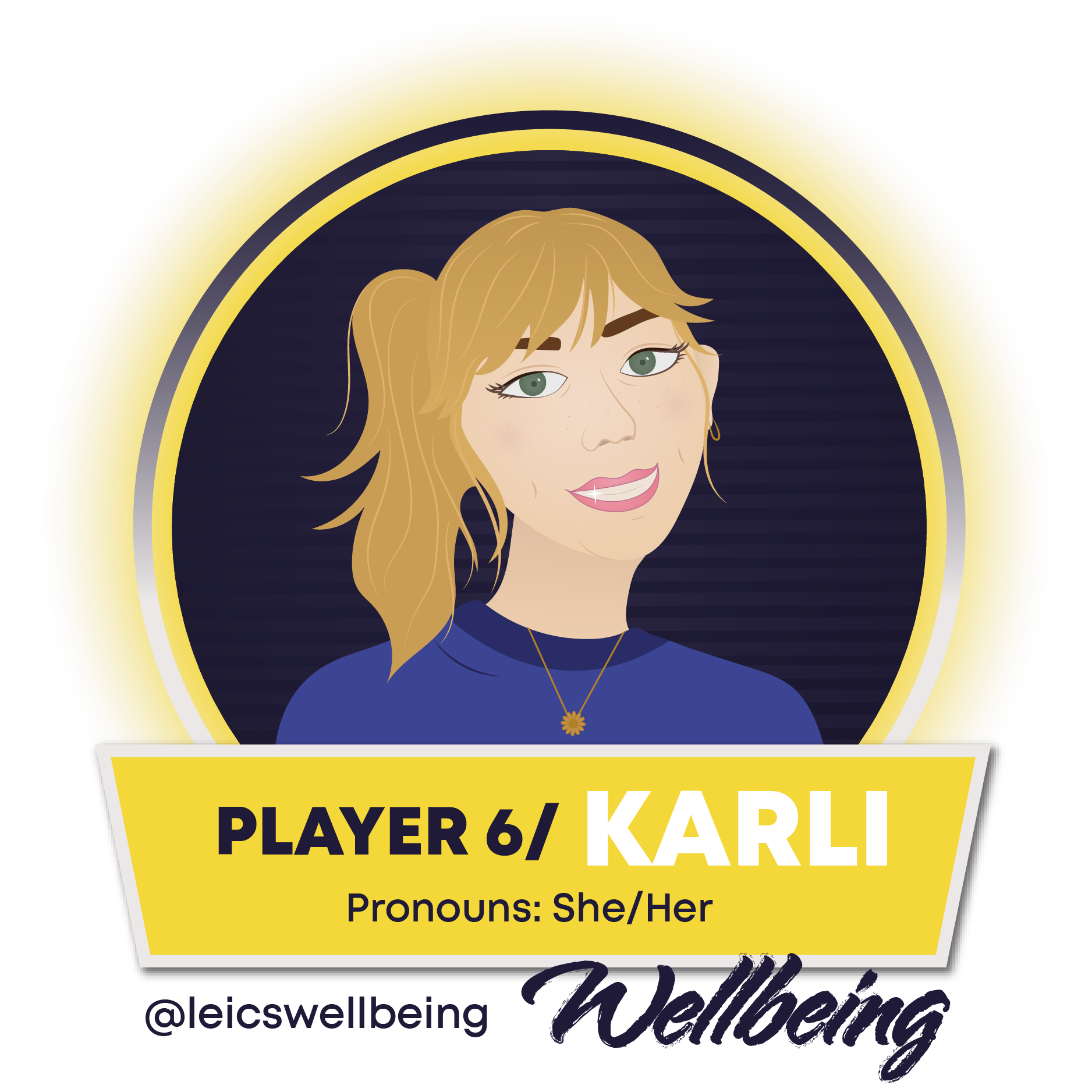 Image of Karli Wagner, Wellbeing Officer She/Her, click for full profile