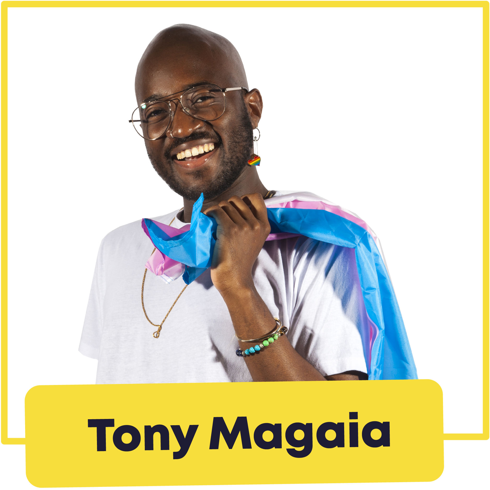 Image of Tony Magaia, Liberation Officer 2020/21